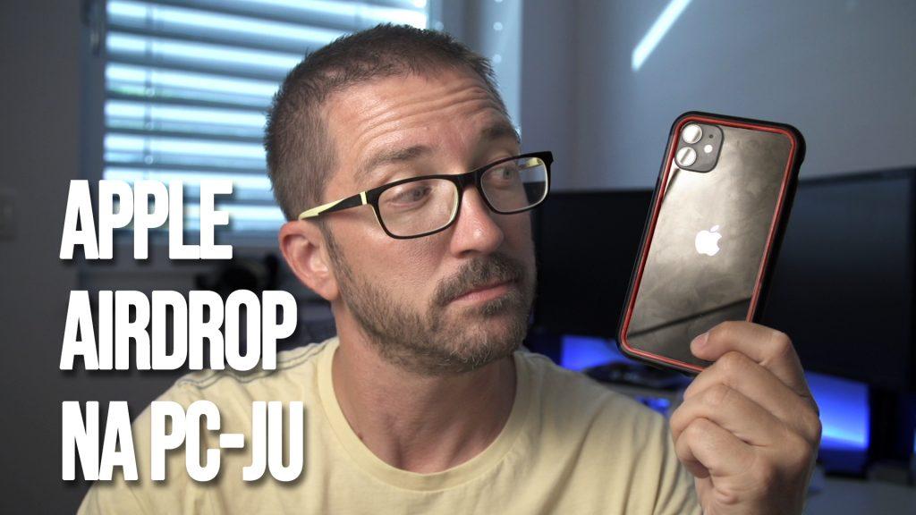 Apple AirDrop na PCju