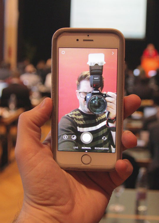Tadej Bokan-selfie