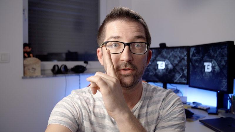 Kako osvetliti ljudi z očali_korak 1