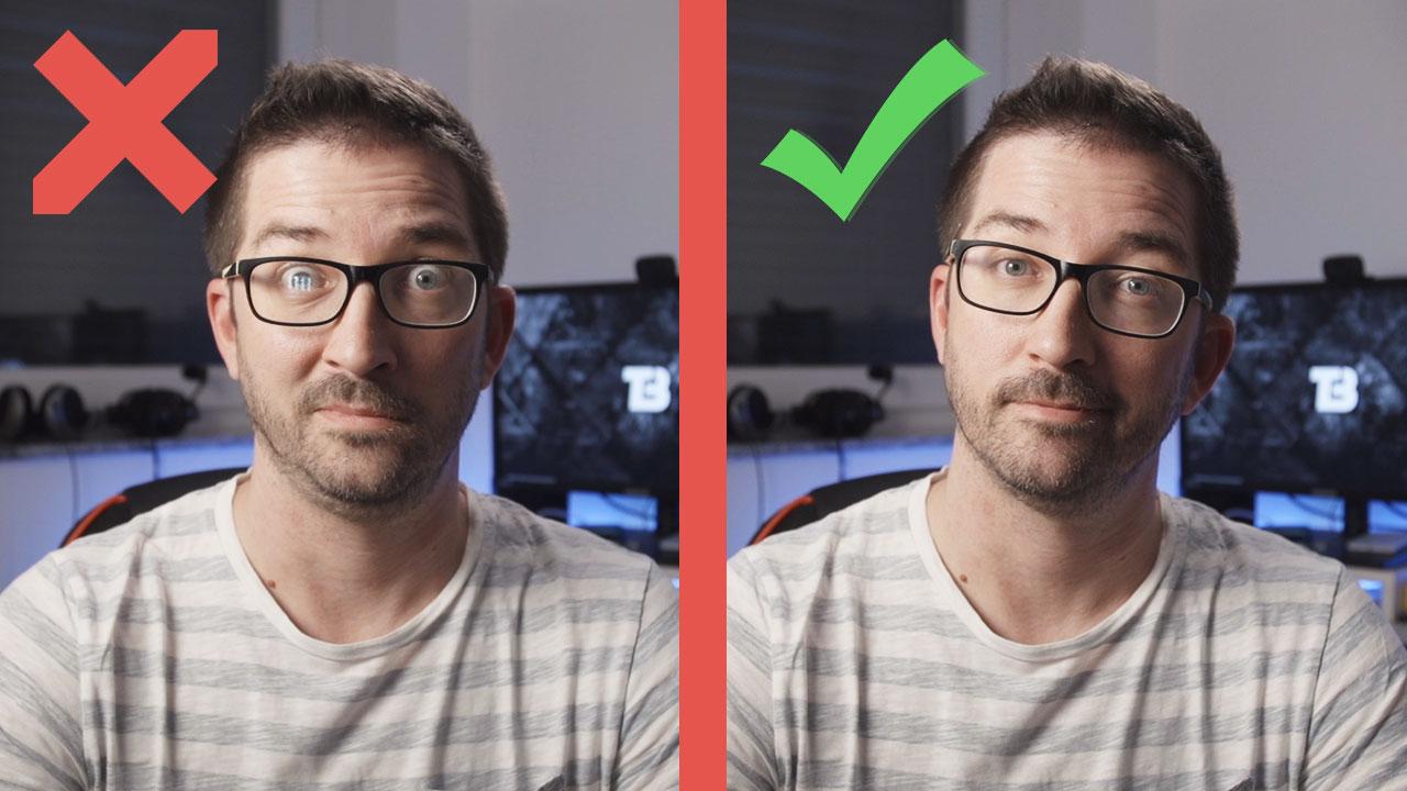Kako osvetliti ljudi z očali